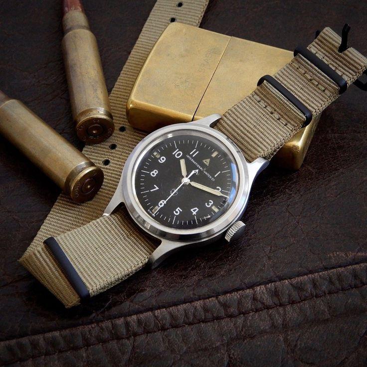IWC Mark 11 XI Cal 89 Original British Military MoD Issued Watch 6b/346 1952 RAF