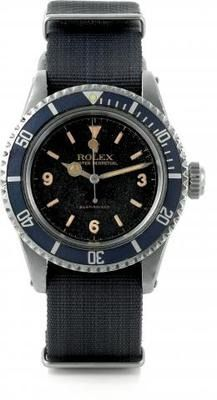 Oh, Those Stylish Brits - A military issue vintage Rolex for the British army.