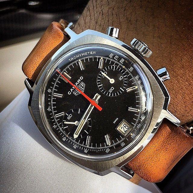 Tag Heuer Camaro - швейцарские мужские часы на руке