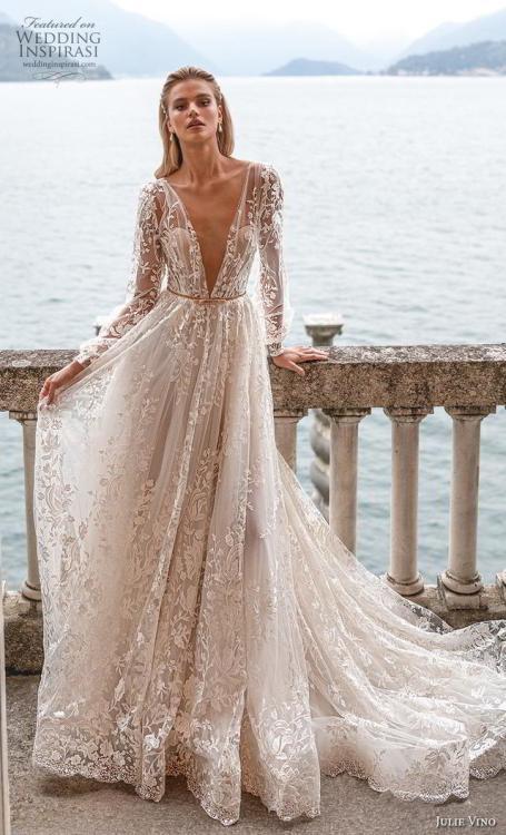 Fall Dresses 2020.Wedding Inspiration Julie Vino Fall 2020 Wedding Dresses