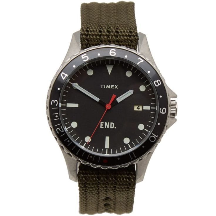 end. x timex navi ocean watch. a military inspired, future classic; we are proud...