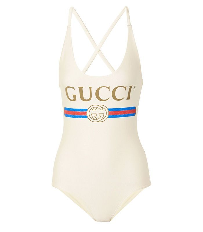 This New Gucci Swimsuit Is Destined to Be a Cult Classic