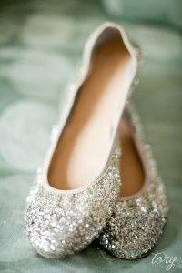 sparkle silver flats! I have a pair of silver glittery flats but these would be ...