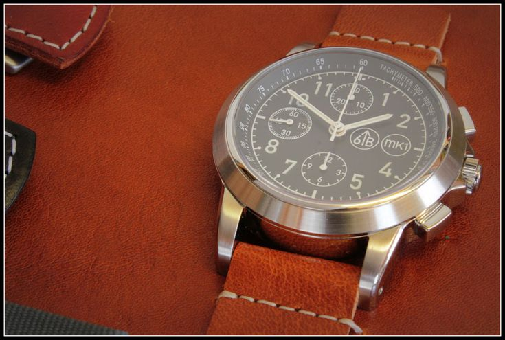 6B Watches And The 6645 MK1 Limited Pilot's Chronograph