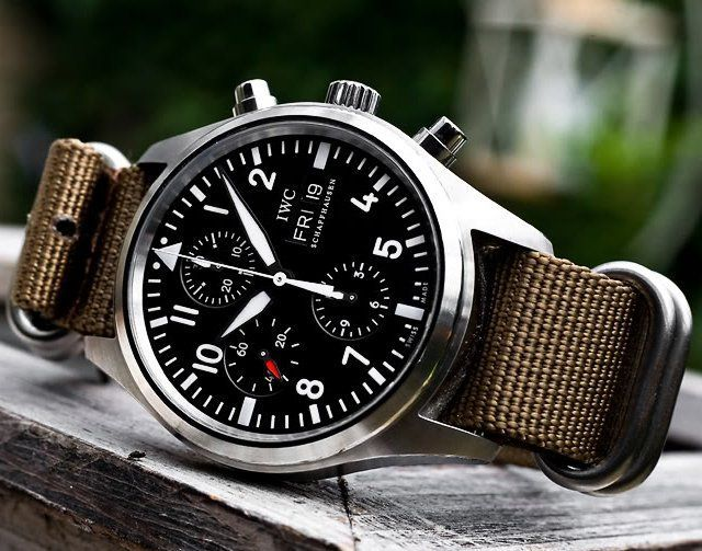 IWC Pilot's Chronograph Automatic | The year of the gentlemen | Pinte…