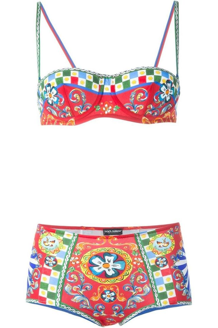 10 Cute High-Waisted Bikini Swimsuits - Sexy High-Waisted Retro Bikinis We Love
