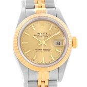 Rolex Datejust automatic-self-wind womens Watch 69173 (Certified Pre-owned) * Re...