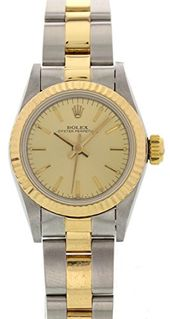 Rolex Oyster Perpetual automatic-self-wind womens Watch 67193 (Certified Pre-own...