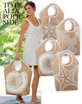 New Product! Mud Pie Beach Totes and Coolers - Trendy Tree Blog| Holiday Decor Inspiration | Wreath Tutorials|Holiday Decorations| Mesh & Ribbons