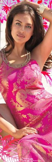 ~Irina Shayk - Lilly Pulitzer Resort Collection 2014   House of Beccaria#