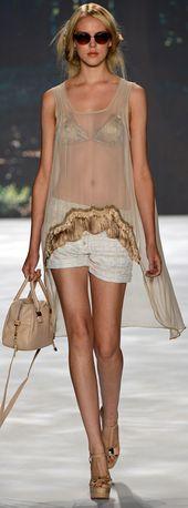 • Badgley Mischka Spring Summer 2013 Ready-To-Wear collection • ❦