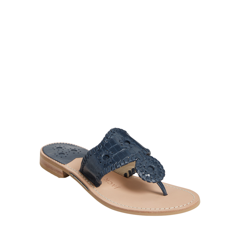 Jacks Flat Croc Sandal
