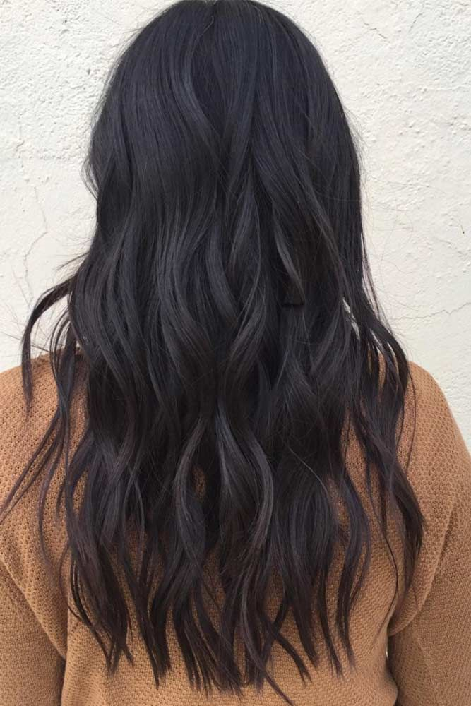 Hair Color 2017 2018 Dark Brown Hair Color Adds A Mystery To The