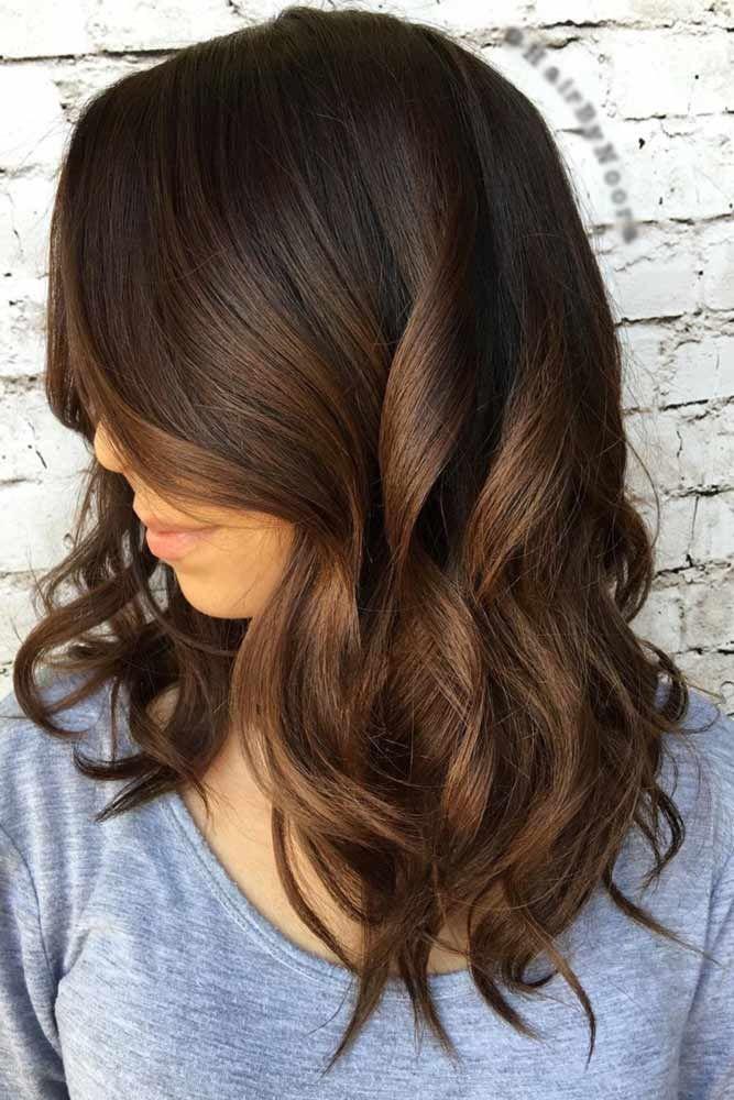 Hair Color 2017 2018 Chocolate Brown Hair Looks Very Beautiful