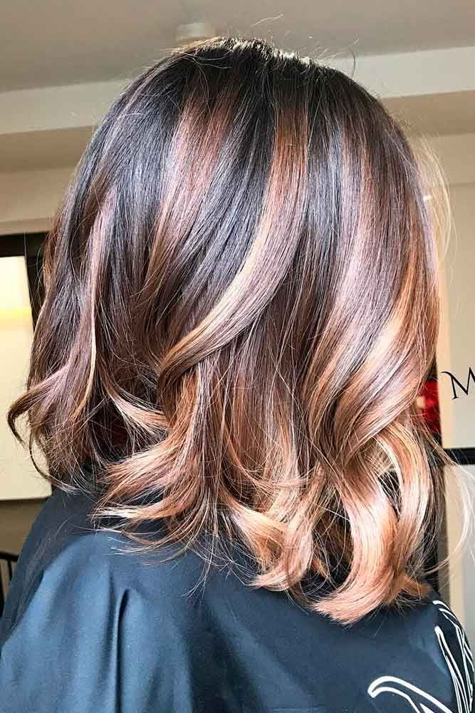 Hair Color 2017 2018 Highlights For Dark Brown Hair Are All