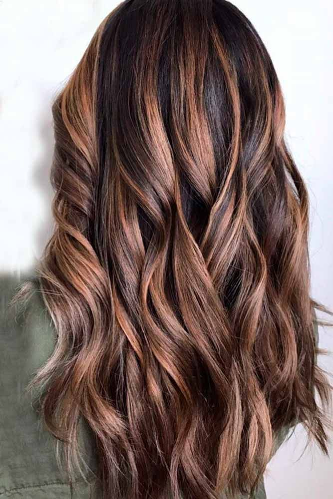 Hair Color 2017/ 2018 - Highlights for Dark Brown Hair Color Tiger Eye 15 Stunning New Ideas ...
