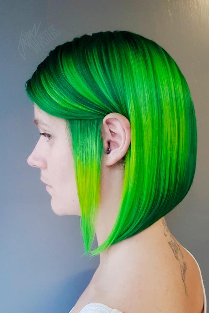 Hair Color 2017 2018 Green Hair Is A Fun Way To Spice Up Your