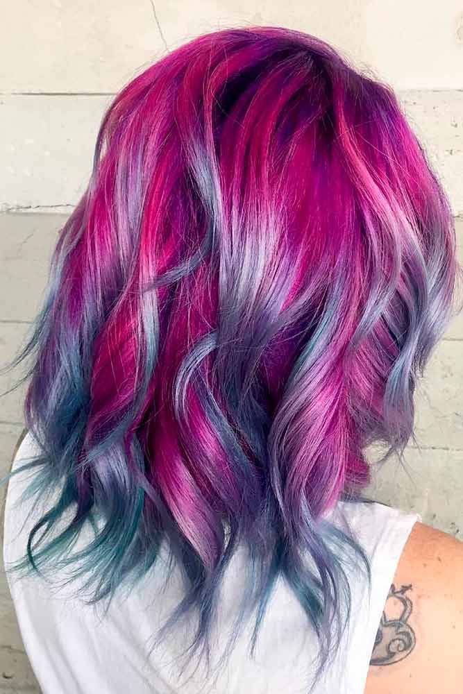 Hair Color 2017 2018 Magenta Hair Color Is Perfect For