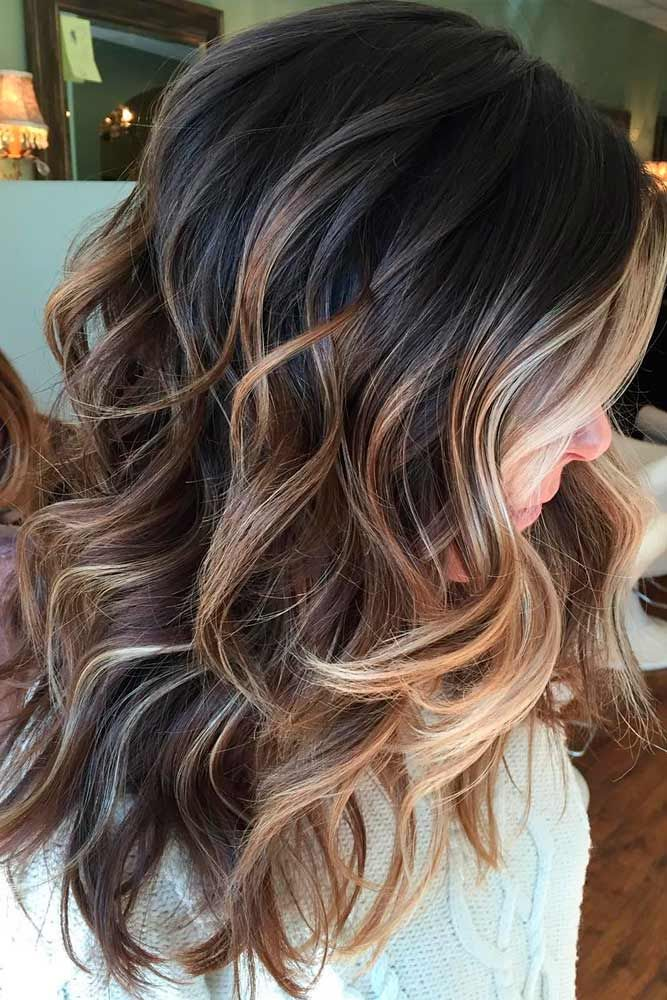 Hair Color 2017 2018 Ways To Make Your Caramel Hair Color Play