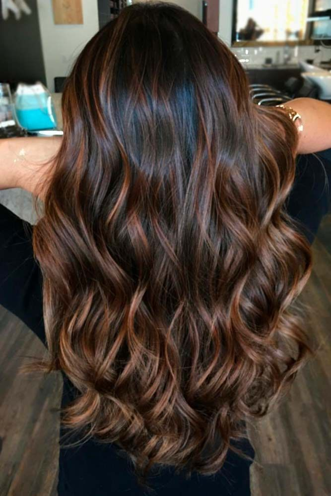 Hair Color 2017 2018 Highlights For Dark Brown Hair Are