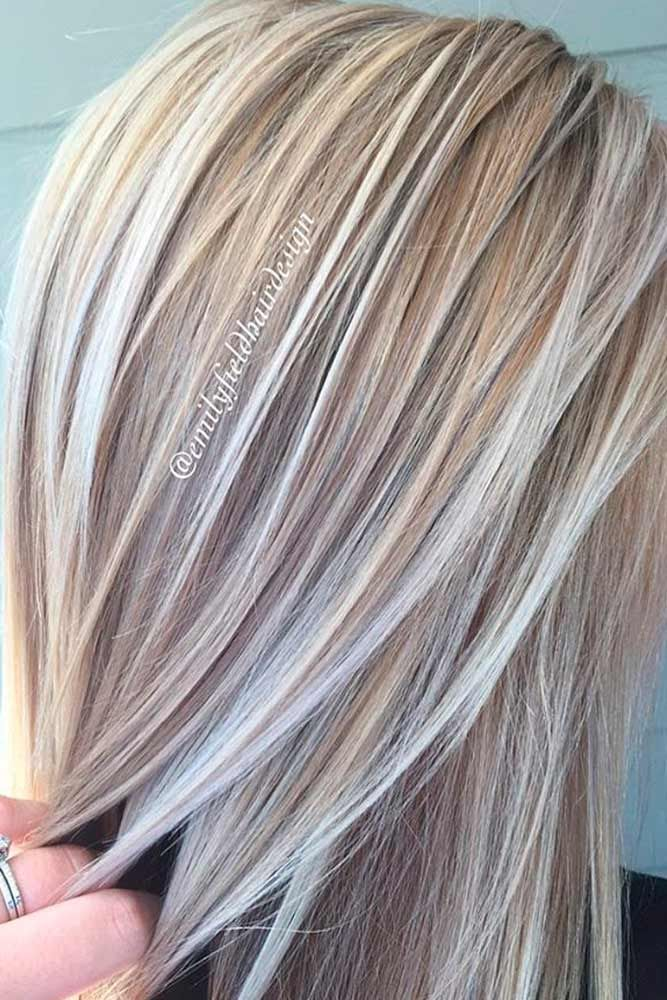 Hair Color 2017/ 2018 - Try platinum blonde hair shade if