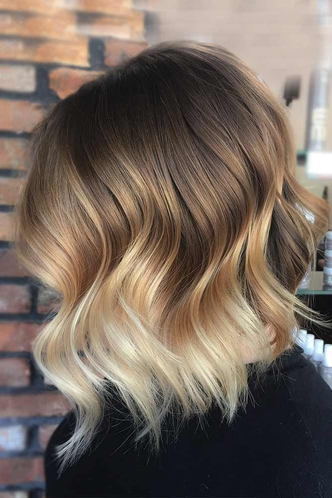 Two Tone Hair Color By A Dark And Light