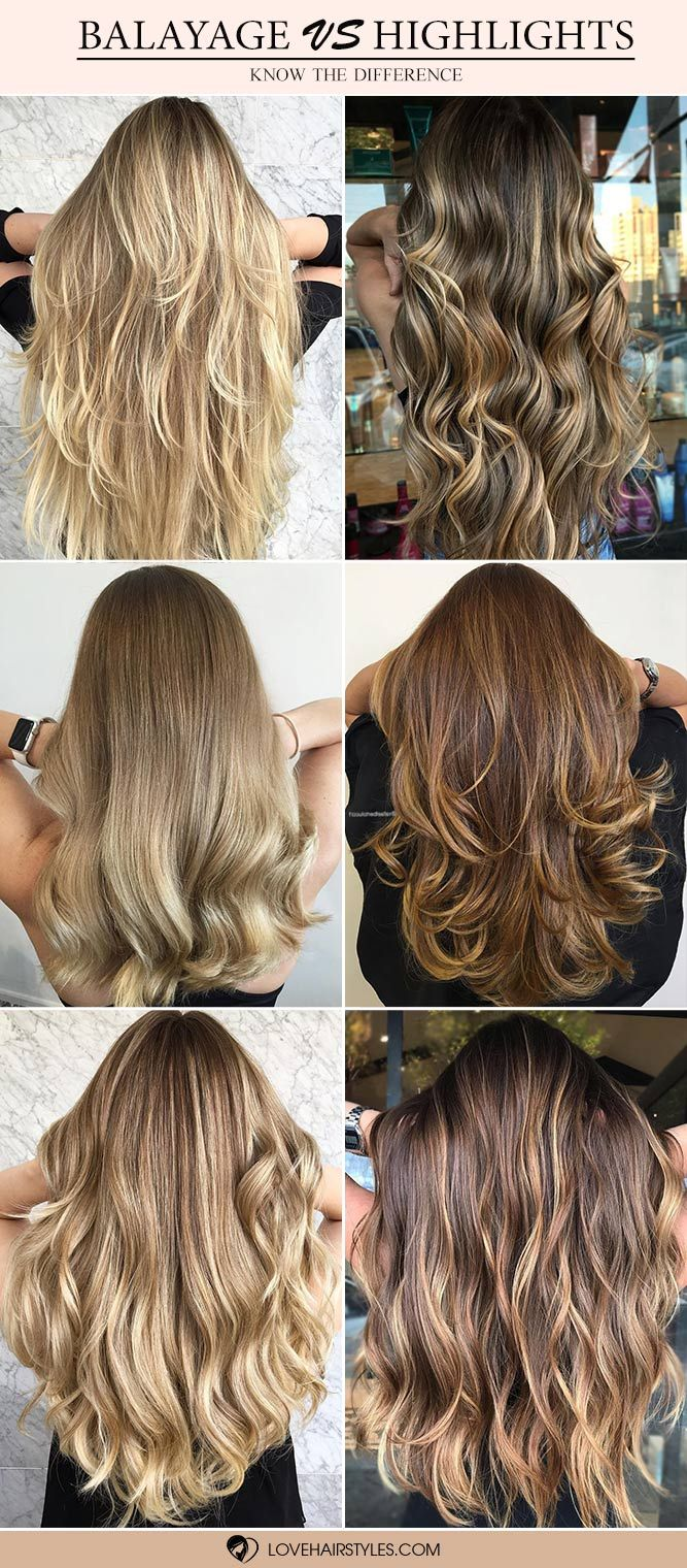 Hair Color 2017 2018 Balayage Highlights How Often Do