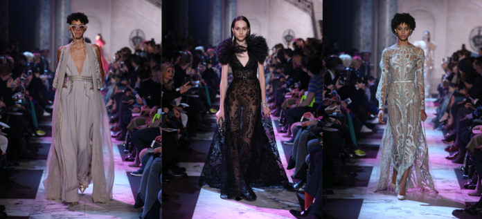 Elie Saab Haute Couture SS18 at Paris Fashion Week