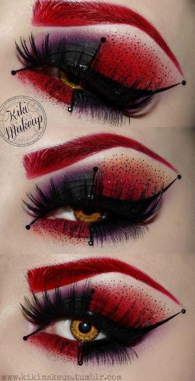 Scary Makeup Ideas Queen
