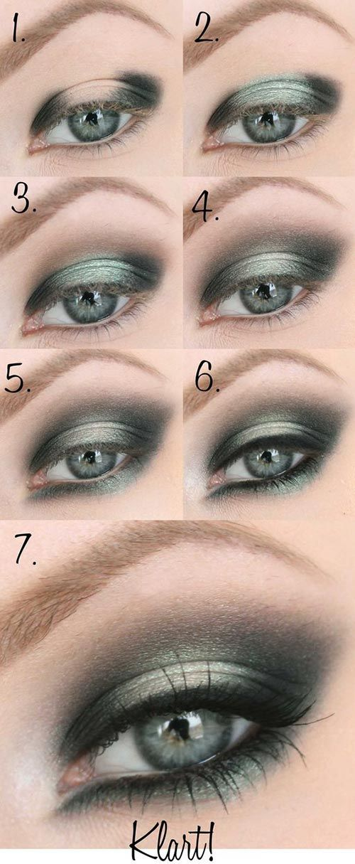 Eye Makeup Ideas For Green Eyes And Blonde Hair Best Image Of