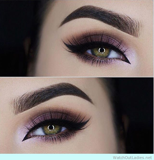 Makeup Ideas 2017 2018 45 Purple Eye Makeup Looks For Green Eyes For