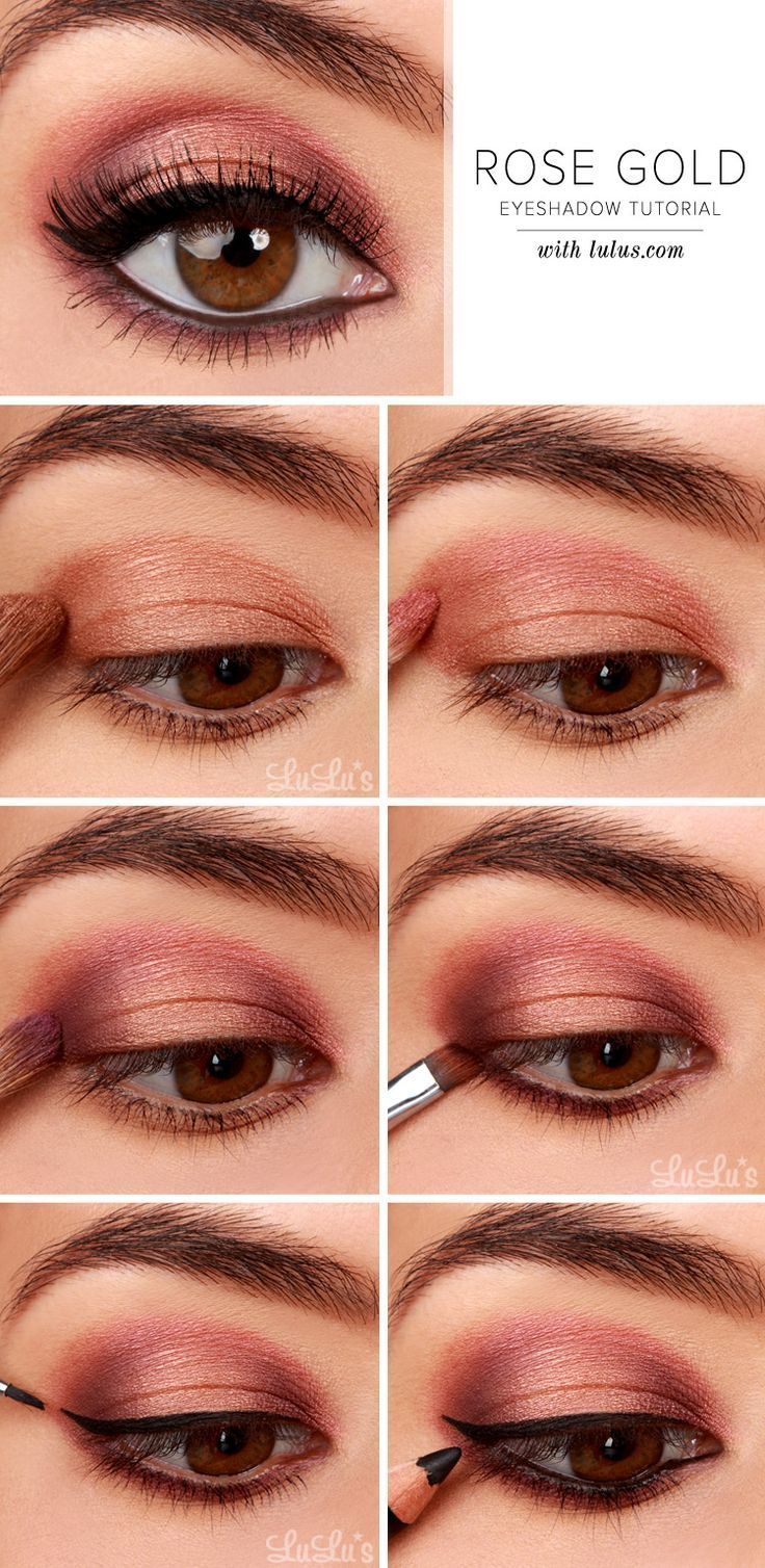 Makeup-Ideas-2017-2018-Our-Rose-Gold-Eyeshadow-Tutorial-will